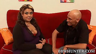 Ebony and white hotties are sharing one large dick