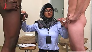 Arab wife fuck and chinese first time Black vs White, My Ultimate Dick Challenge.