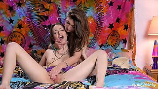 Jojo Kiss and Tali Dova in festival after party fun