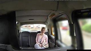 British taxi babe cocksucks and rims cabbie