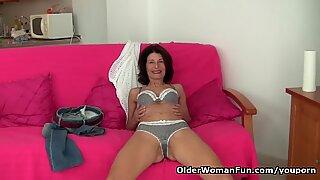 Grandma Emanuelle's pussy looks so inviting