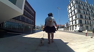 Windy upskirts Teil 10