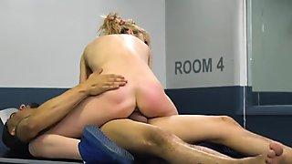 Undocumented latina riding hard cock