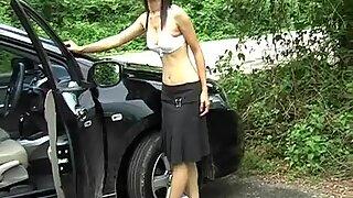 Азијски аматуер девојка позирање гола