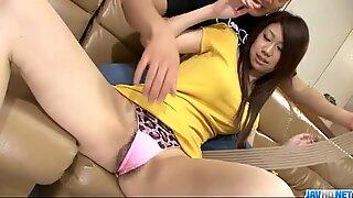 Fuuka Takanashi amazes in full hardcore porn show