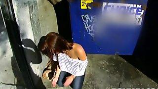 Hot ass teen Krystal Banks gets nailed
