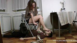 Serbian princess sole slave(part I)