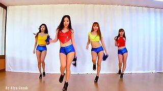 Waveya Korean Dancers splendid edit (no sound)