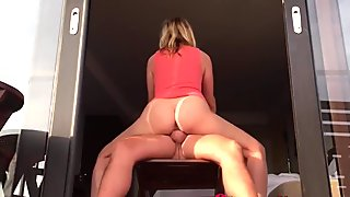 Cheating Blonde Mom Rides Big Dick In Straight Fuck
